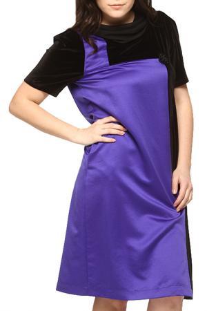Платье GRAND POMMES. Цвет: фиолетовый