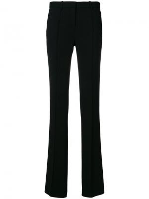 Классические брюки Versace. Цвет: чёрный