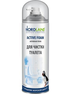Nordland пена для чистки туалета с ароматом морской свежести, 500 мл.. Цвет: белый