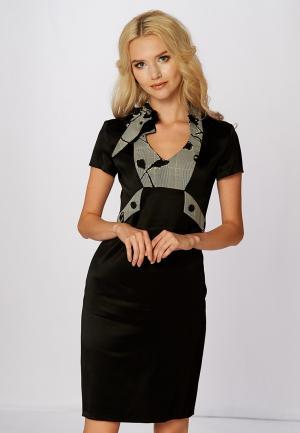 Платье Ано. Цвет: черный
