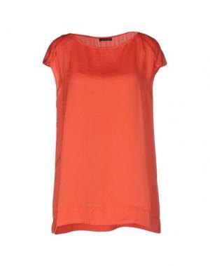 Блузка RED. Цвет: коралловый