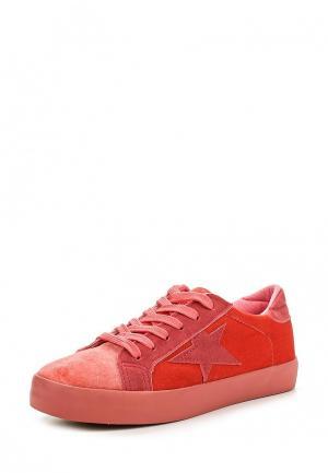 Кеды Sweet Shoes. Цвет: коралловый