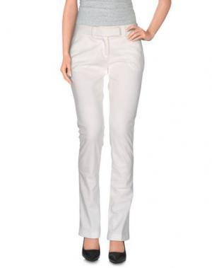 Повседневные брюки NORA BARTH. Цвет: белый