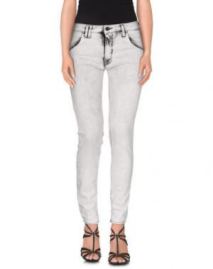 Джинсовые брюки CYCLE. Цвет: светло-серый