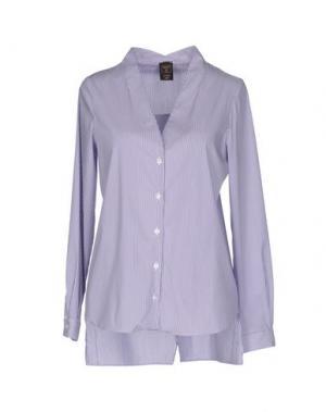 Pубашка GUTTHA. Цвет: фиолетовый