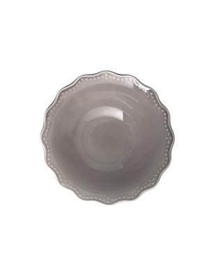 Салатник CROWNE H&H. Цвет: серый