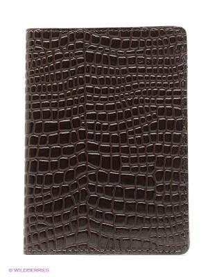 Обложка для автодокументов A.Valentino. Цвет: темно-коричневый, коричневый