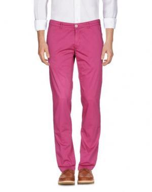 Повседневные брюки DOMENICO TAGLIENTE. Цвет: фуксия