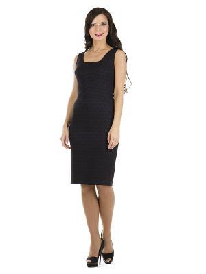 Платье PROFITO AVANTAGE. Цвет: темно-синий, черный