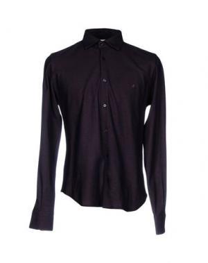 Pубашка BROOKSFIELD. Цвет: баклажанный