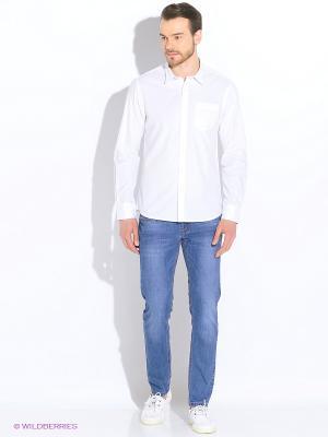 Рубашка Broadway. Цвет: белый