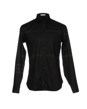 Pубашка BIKKEMBERGS. Цвет: черный