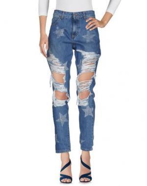 Джинсовые брюки SHOP ★ ART. Цвет: синий