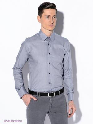 Рубашка Havana & Co. Цвет: серый