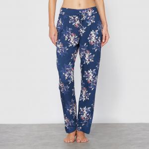Брюки пижамные Hanami Love SKINY. Цвет: синий/цветы