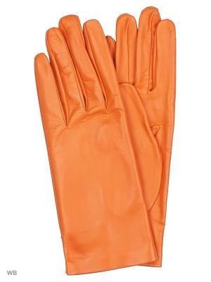 Перчатки MERCEDES-BENZ. Цвет: оранжевый