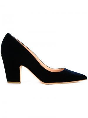 Туфли с заостренным носком Rupert Sanderson. Цвет: синий