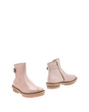 Полусапоги и высокие ботинки AGL ATTILIO GIUSTI LEOMBRUNI. Цвет: светло-розовый