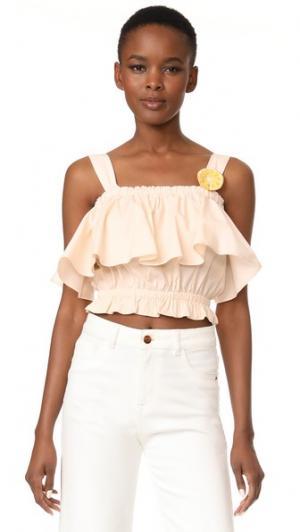 Блуза Canopy Samantha Pleet. Цвет: розовый