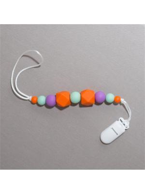 Игрушка-подвеска Краски лета. Цвет: серо-зеленый, фиолетовый, оранжевый