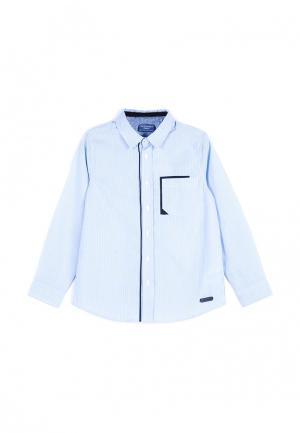 Рубашка Coccodrillo. Цвет: голубой
