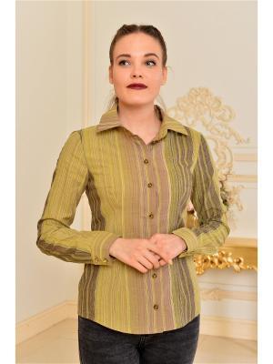 Рубашка Katerina Bleska&Tamara Savin. Цвет: зеленый