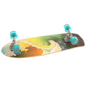 Скейт круизер  Cx.4 Complete Greenroom Assorted 9.75 x 34 (86.4 см) Carver. Цвет: мультиколор