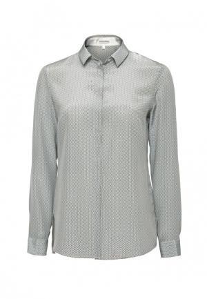 Блуза Colletto Bianco. Цвет: серый