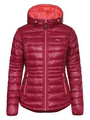 Куртка LI-NING. Цвет: малиновый, розовый