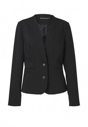 Пиджак Emka. Цвет: черный