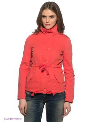 Куртка People. Цвет: коралловый