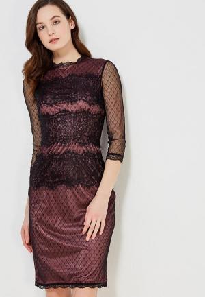 Платье Lusio. Цвет: бордовый