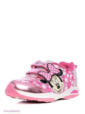 Кроссовки Minnie Mouse. Цвет: розовый