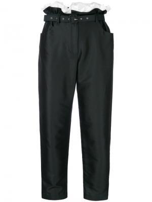 Укороченные брюки Isa Arfen. Цвет: чёрный