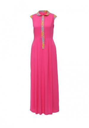 Платье D.VA. Цвет: фуксия