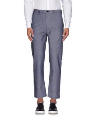 Повседневные брюки STILOSOPHY INDUSTRY. Цвет: грифельно-синий