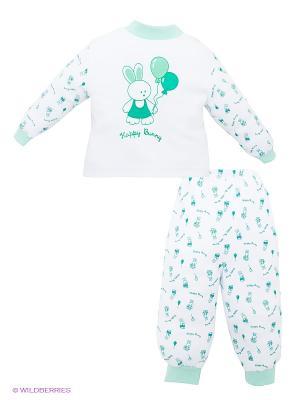 Пижама КОТМАРКОТ. Цвет: белый, зеленый
