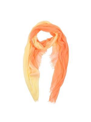 Шарф Fabretti. Цвет: оранжевый, желтый