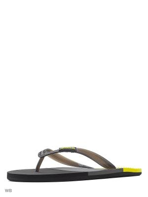 Шлепанцы WATER Joma. Цвет: черный, желтый