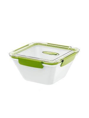 Ланч-бокс EMSA BENTO BOX 1.5л белый/зеленый 513961. Цвет: белый, зеленый