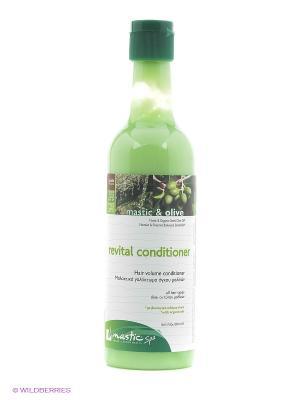 Кондиционер для придания объема Revital conditioner Mastic Spa. Цвет: зеленый