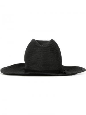 Шляпа Wire and Ribbon Kijima Takayuki. Цвет: чёрный