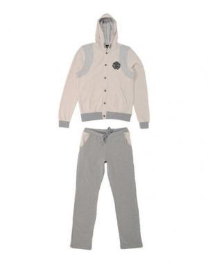 Спортивный костюм ROBERTO CAVALLI DEVILS. Цвет: бежевый