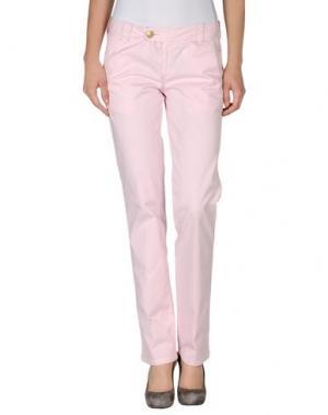 Повседневные брюки MASTAI FERRETTI. Цвет: розовый
