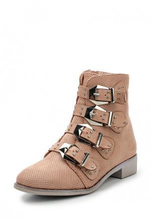 Ботинки Bellamica. Цвет: розовый