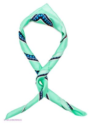 Платок Venera. Цвет: светло-зеленый, синий