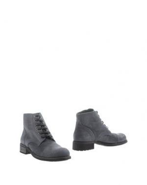 Полусапоги и высокие ботинки DEL GATTO. Цвет: темно-синий