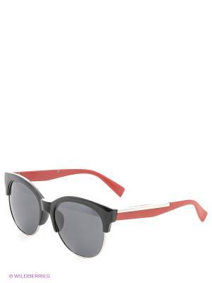 Солнцезащитные очки Vittorio Richi. Цвет: красный, черный