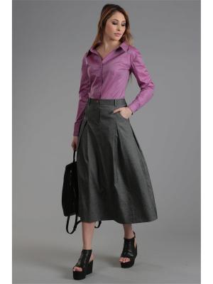 Блуза ЭНСО. Цвет: сиреневый