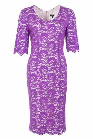 Платье Elisa Fanti. Цвет: фиолетовый